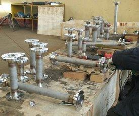 焊法蘭鋼管