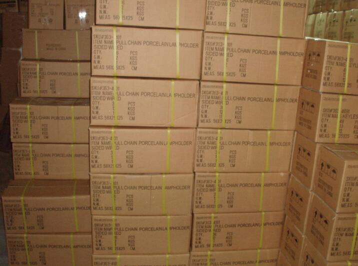 Keyless socket exported carton box