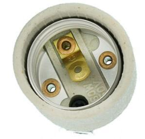 Medium base porcelain socket for LED Incandescent bulb
