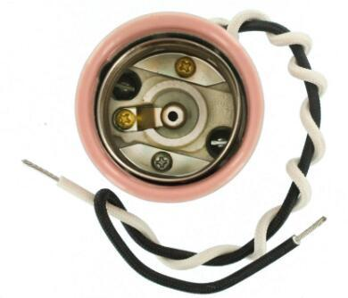 Pink E26 porcelain light socket 1500W Mogul Base