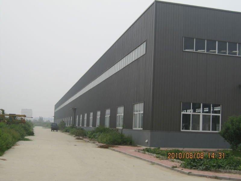 钢结构厂房图
