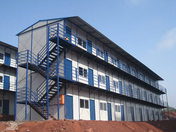 K式双坡三层标准活动房
