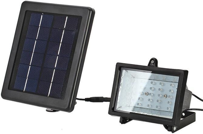 2.5 watt solar garden flood lights