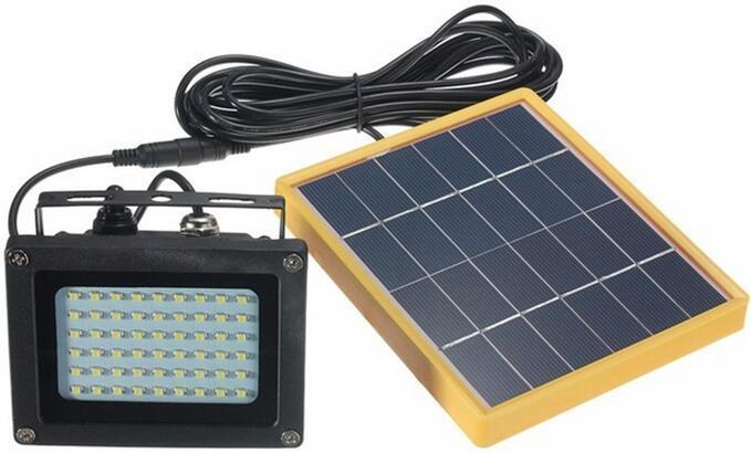solar powered flood lights with remote
