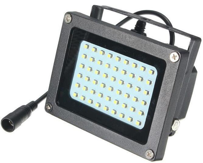 54 LED solar powered flood lights with remote