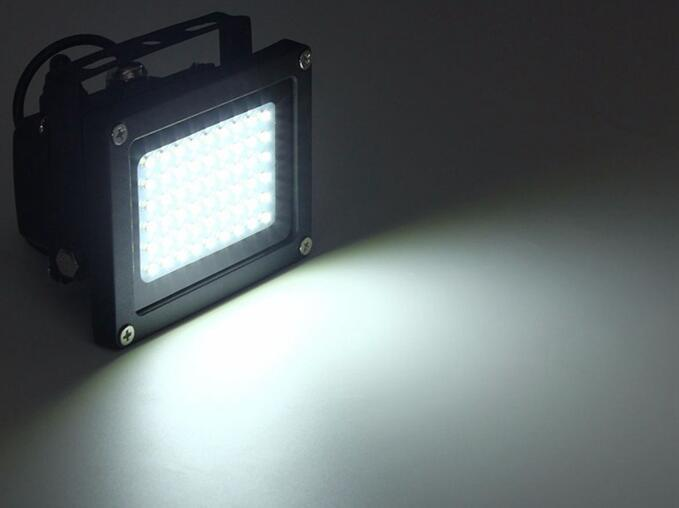 54 LED solar powered flood lights with remote control waterproof