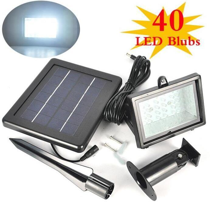 40 solar led landscape lights Outdoor