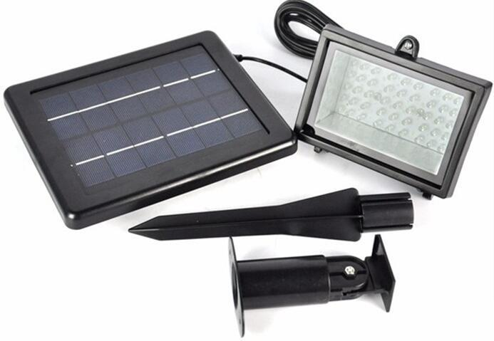 45 LED 3W garden solar flood lights outdoor