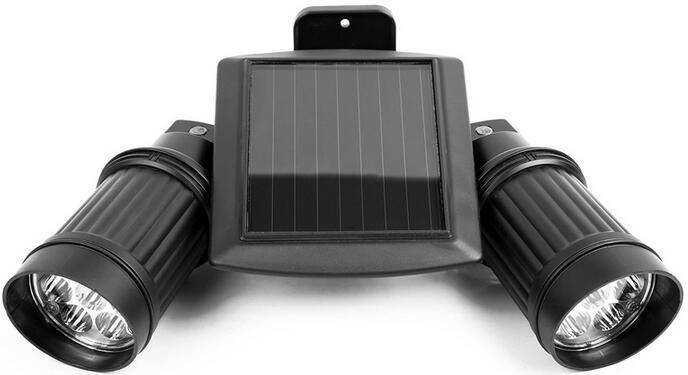 14 LEDs solar led outdoor flood lights motion sensor