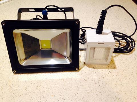 20W LED large solar powered outdoor lights