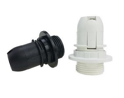 Plastic Full Thread Push in E14 holder