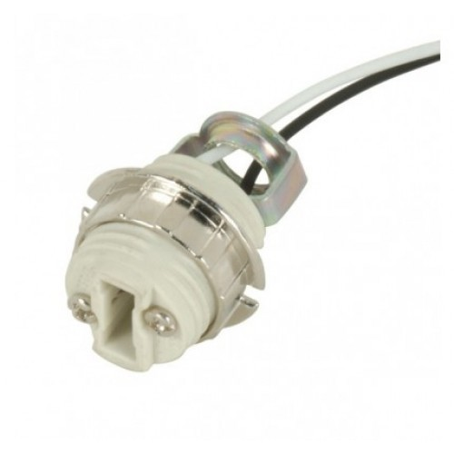 g9 lamp socket with bracket leads