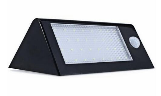 32 LED 550 Lumens Bright Outdoor best exterior solar wall lamps