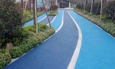 行车道彩色路面项目工程案例