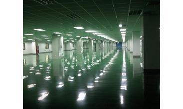 中国联通未来城耐磨加固化剂地坪施工案例
