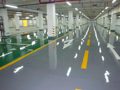 车库地坪技术指标