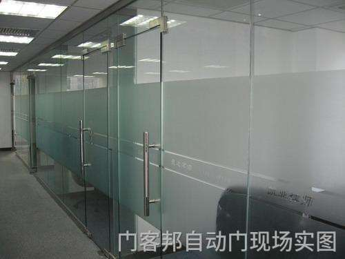 成都有框地弹簧玻璃门定制安装公司