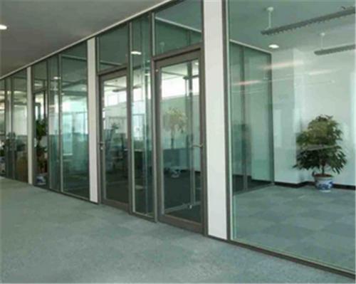 成都铝合金玻璃门案例