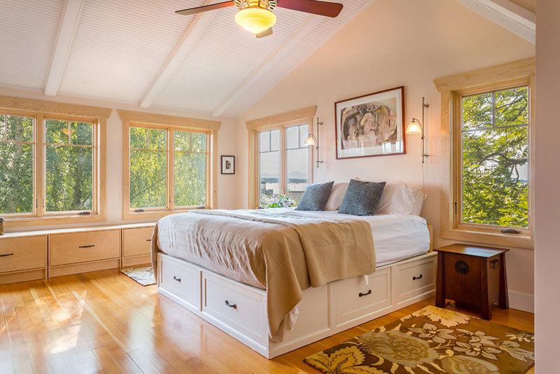 新房装修床下储物柜