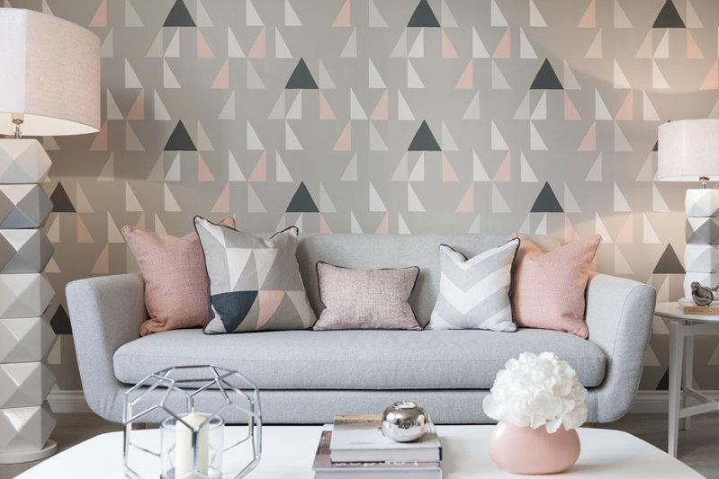 新房装饰壁纸效果图