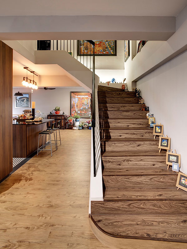 两层复楼现代风格装修案例