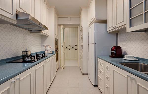 白色经典空间元素-现代简约风格装修案例