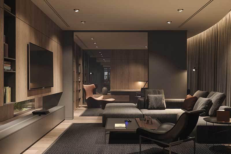 320平米超大现代风格家居