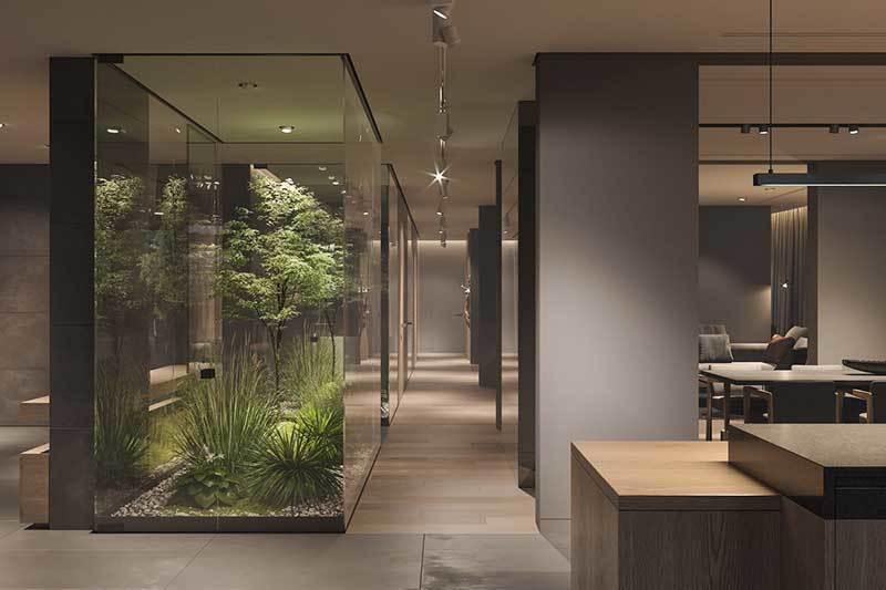 320平米超大现代风格家居装修设计案例效果图8
