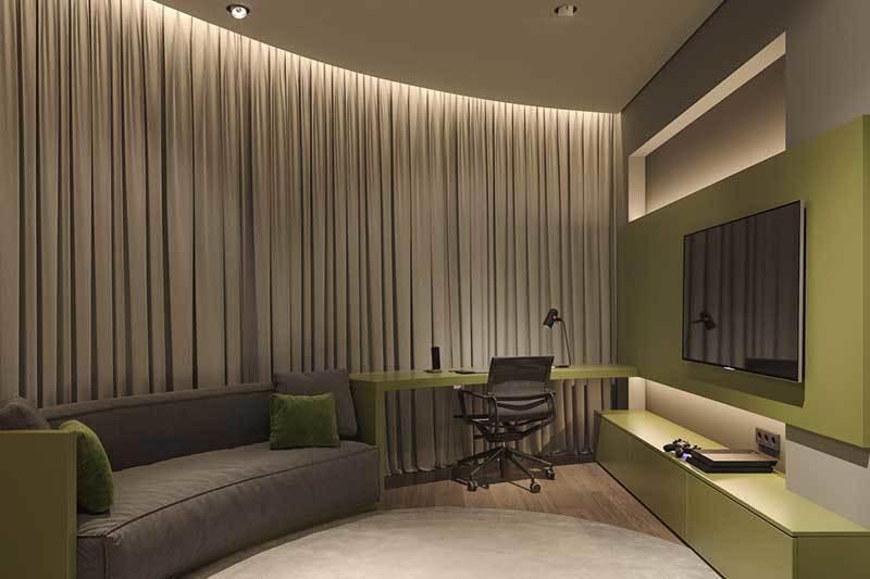 320平米超大现代风格家居装修设计案例效果图14