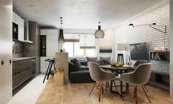 五个简约风格家居装饰效果图337