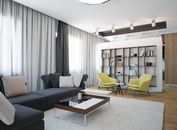 五个简约风格家居装饰效果图32716