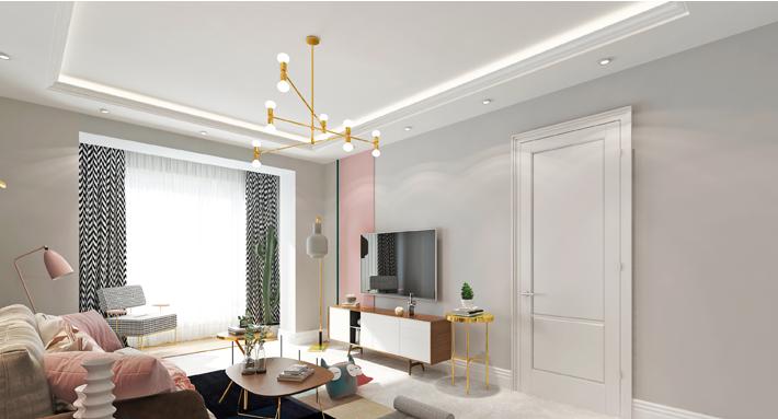 重庆家装公司案例_118平米现代风格装修效果图31.