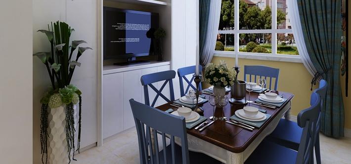 重庆家装公司案例_59平米地中海风格装修效果图47.