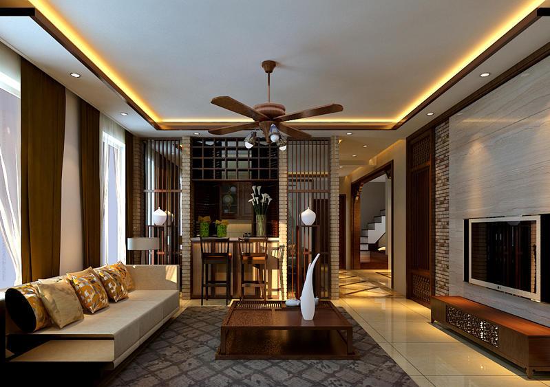 重庆装饰公司案例_紫薇南苑东南亚风格装修效果图42
