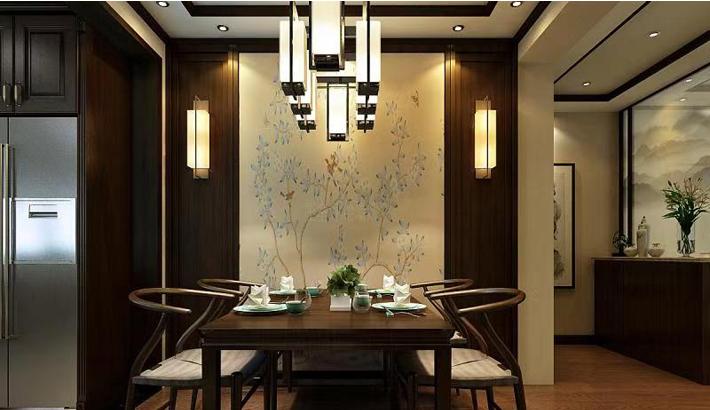 重庆装饰公司案例_同心家园中式风格装修效果图46.