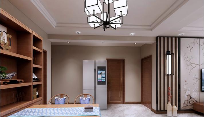 重庆装饰公司案例_113平米中式风格装修效果图67.