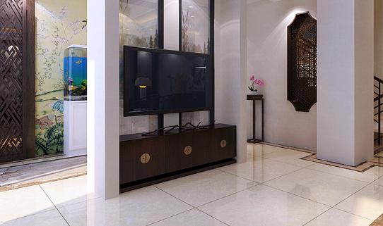 重庆装饰公司案例_200平米新中式风格装修效果图80.