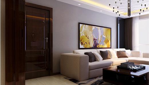 重庆旧房装修案例_177平米新中式风格装修效果图58.