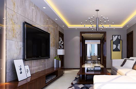 重庆旧房装修案例_177平米新中式风格装修效果图80.