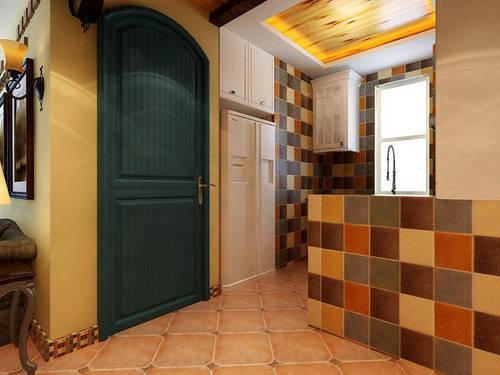 重庆新房装修案例_97平地中海风格装修效果图97