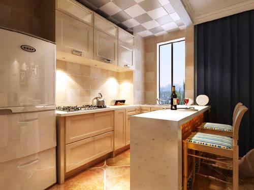 重庆新房装修案例_62平米地中海风格装修效果图4