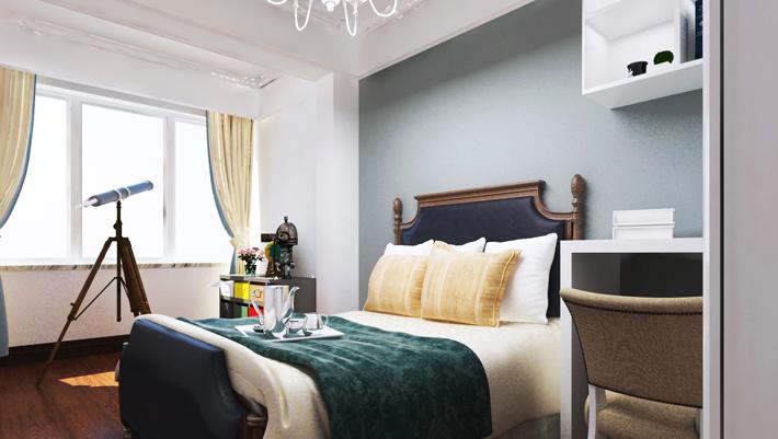 重庆新房装修案例_148平米美式风格装修效果图32.