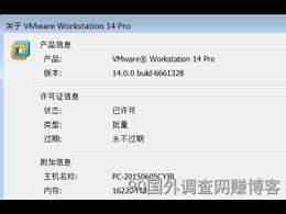 网赚用VMware Workstation V14.0 Pro绿色精简版