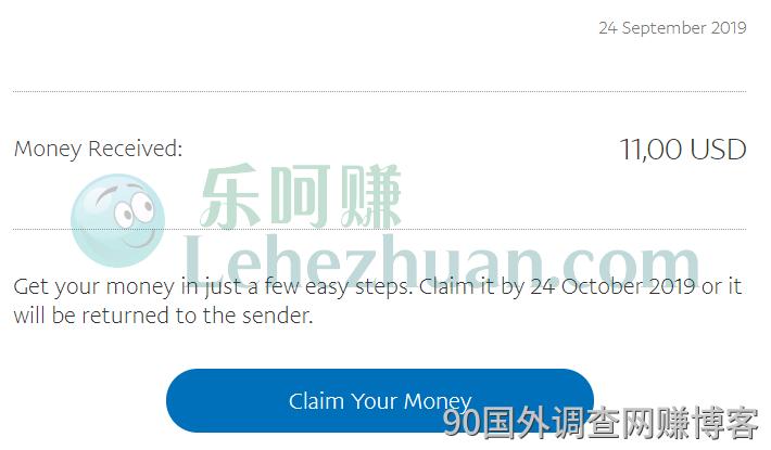 国外问卷调查网站资源11连续9个月稳定收款美元paypal。