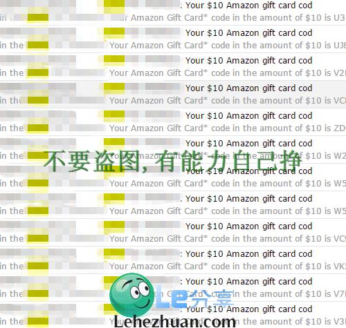 国外调查网站资源站5刷查收款近千刀US Amazon Gift Card。