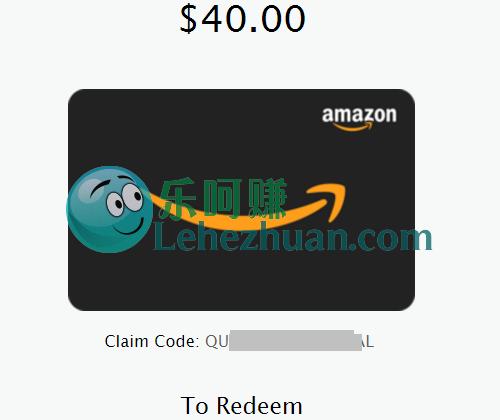 Recollective类国外调查社区2收800刀Amazon Gift Card。