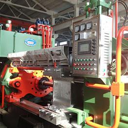 铝合金挤压机的挤压工艺及挤压特点