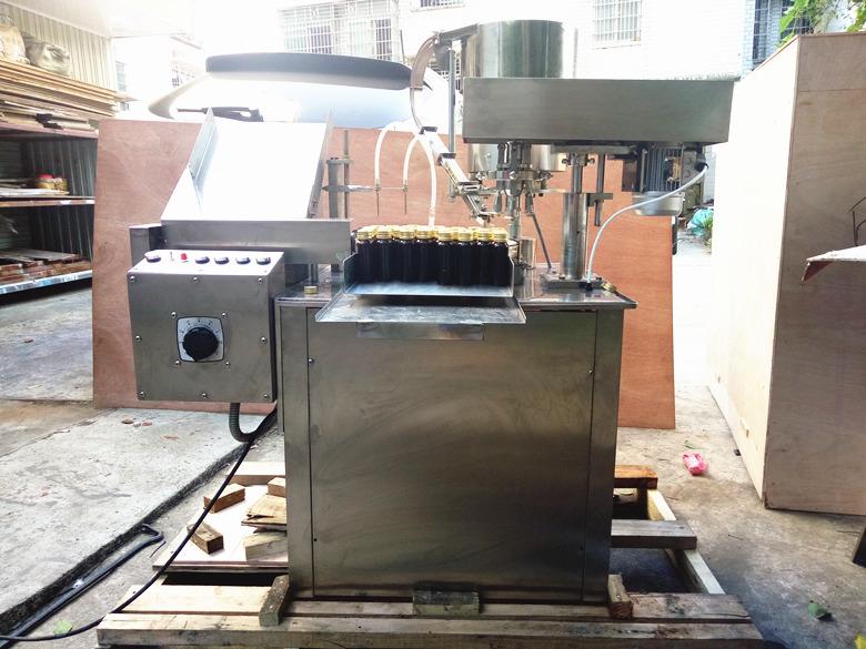 YGM-30糖浆灌轧一体机