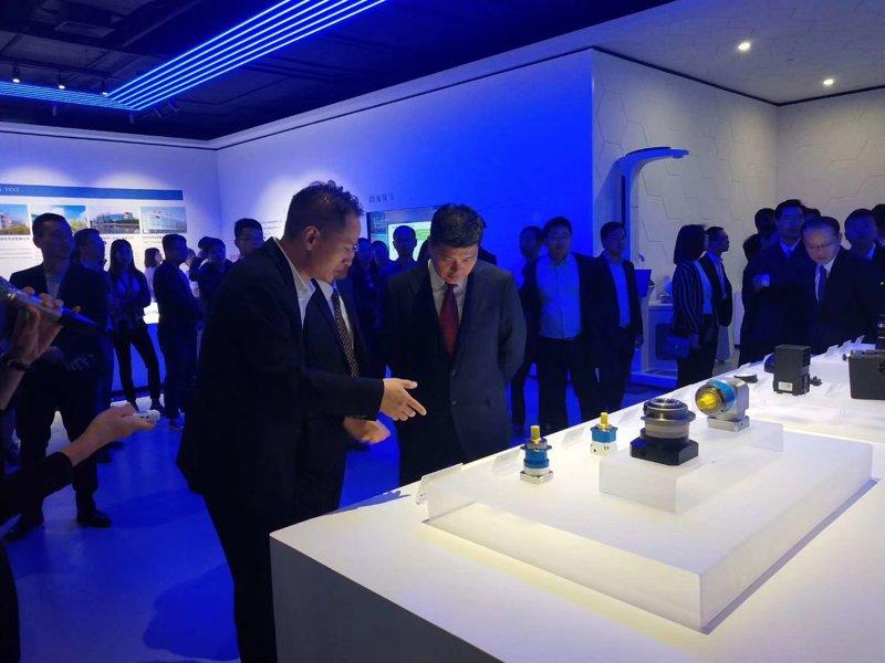 正名行星减速机在苏州吴中区科技展上展示