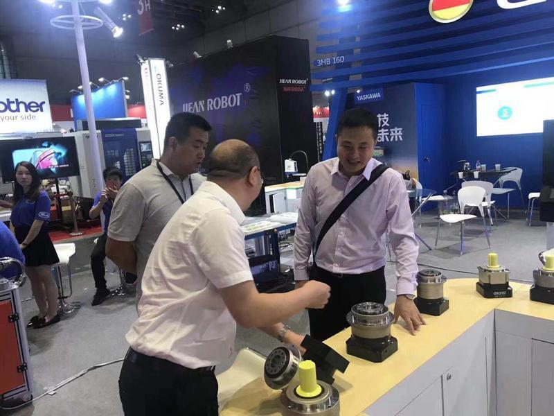 正名行星减速机上海工博会展览